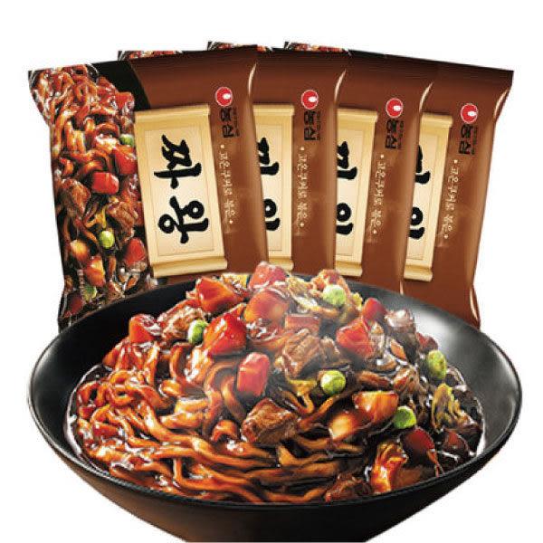 韓國 農心炸王 炸醬麵 134g (單包) 【美日多多】