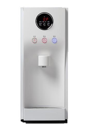 HS190桌上型冰冷熱飲水機/桌上型RO飲水機(內置五道RO過濾)白色鏡面烤漆【台灣本島內含安裝】