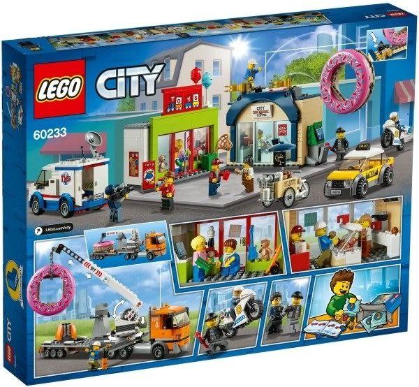 【LEGO樂高】CITY 甜甜圈店新開幕 #60233