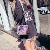 水桶包包女新款潮韓版百搭手提包單肩斜背包女包夏季寬帶小包  麥琪精品屋