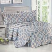 Galatea  水漾之情-天絲雙人舖棉兩用被套床包四件組