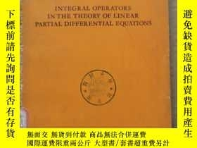 二手書博民逛書店integral罕見operators in the theory of linear partial diffe