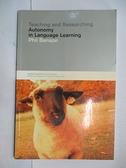 【書寶二手書T1/大學教育_JNB】Teaching and Researching Autonomy in Language Learning