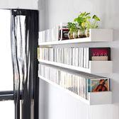U型隔板免打孔墻上置物架客廳裝飾轉角臥室壁掛書架墻壁擱板木板     韓小姐の衣櫥