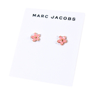 美國正品 MARC JACOBS 小雛菊琺瑯針式耳環-粉【現貨】