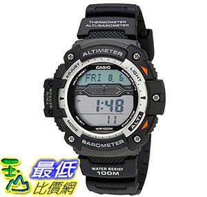 [美國直購] 手錶 Casio Mens SGW300H-1AVCF Twin Sensor Multi-Function Digital Sport Watch