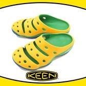 【KEEN 美國 男 Yogui 專業戶外護趾拖鞋《黃/綠/藍》】1011264/透氣/快乾/沙灘鞋/懶人拖★滿額送