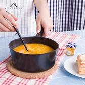 16cm壓鑄小奶鍋不黏鍋煮面熱奶鍋湯鍋燃氣電磁爐通用 快速出貨