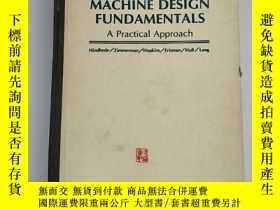 二手書博民逛書店英文版罕見machine design fundamentals