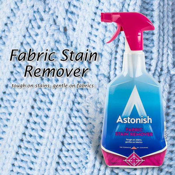衣物去污劑 英國Astonish 強效衣物去污噴劑 傢飾織物去污劑 Fabric Stain Remover【B019】