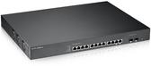 Zyxel合勤 XS1920-12 12埠10GbE智慧型網管交換器