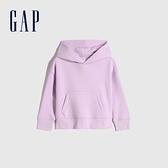 Gap男幼童 活力亮色連帽休閒上衣 661675-丁香紫