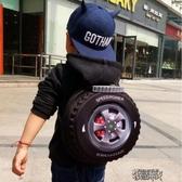 個性兒童書包輪胎書包旅行雙肩背包寶寶書包 幼兒園書包 男孩書包 【快速出貨】