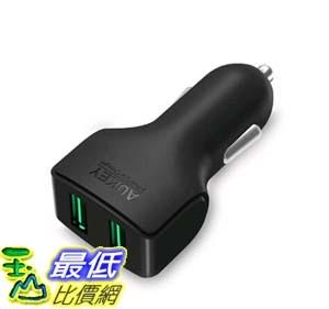[105美國直購] 車載充電器 Car Charger AUKEY 2-Port USB Car Charger for iPhone 6S 6 6 Plus iPad Air 2 mini 3 Galaxy S6