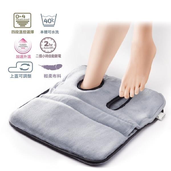 【南紡購物中心】Sunlus造型款足溫器(電熱毯/溫熱紓壓/溫感保暖/電毯/三樂事)