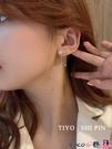熱賣古風耳環 S925銀針五角星高級感耳環法式網紅流蘇精致耳墜長款古風仙氣耳飾 coco