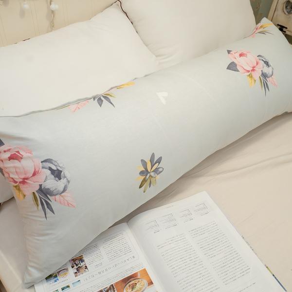 純棉 長抱枕 110cmX40cm 100%棉 枕套可拆洗 花色獨家可愛 台灣製