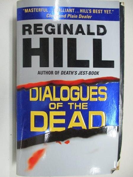 【書寶二手書T5/原文小說_AHP】Dialogues of the Dead_Reginald Hill