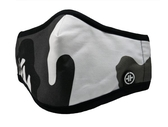 PYX 康盾級口罩-黑白迷彩