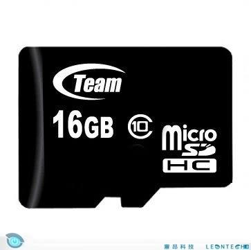 Team 十銓 16GB MicroSDHC Class10 記憶卡 SD記憶卡 附轉卡 終身保固