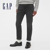 Gap男裝直筒牛仔褲休閒褲516550-夜影