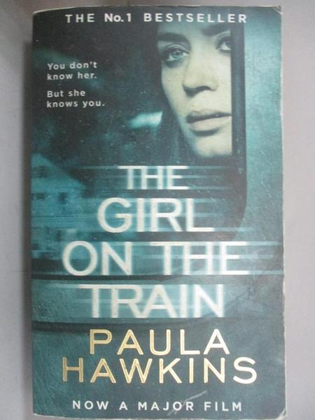 【書寶二手書T2/原文小說_GQN】The Girl on the Train_Paula Hawkins