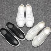 男休閒鞋 板鞋 厚底情侶款小白鞋男士透氣運動韓版新款潮男鞋子《印象精品》q1396
