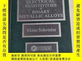 二手書博民逛書店HANDBOOK罕見of ELECTRICAL RESISTIVITIES of BINARY METALLIC