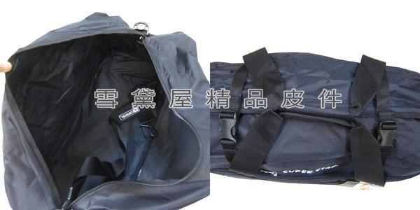 ~雪黛屋~CONFIDENCE 旅行袋台灣製造運動高單數防水尼龍布可手提肩背斜側背附長背帶ACB8501