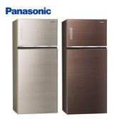 【24期0利率+基本安裝+舊機回收】Panasonic 國際牌 579公升變頻雙門冰箱NR-B589TG 公司貨