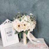 手捧花婚紗攝影道具新娘捧花旅拍外景影樓韓式寫真仿真花  深藏blue