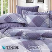 全鋪棉天絲床包兩用被 雙人5x6.2尺 帕圖斯 100%頂級天絲 萊賽爾 附正天絲吊牌 BEST寢飾