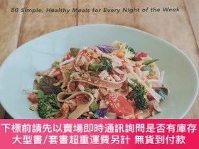 二手書博民逛書店weeknight罕見vegetarian 80 simple healthy meals for every n