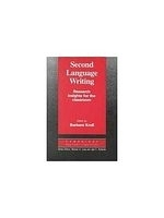 二手書博民逛書店《Second Language Writing: Resear