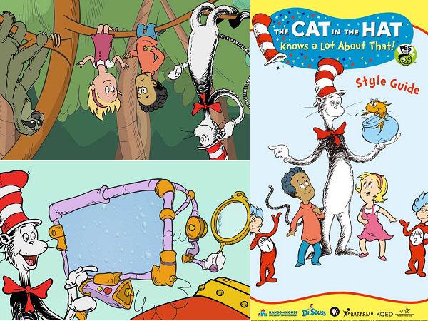 (加拿大動畫)戴帽子的貓 BOX 1 DVD ( THE CAT IN THE HAT knows a Lot About That!  ) ※附導讀手冊