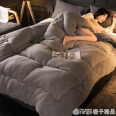 北極絨春秋冬被芯空調被鋪床被單雙人學生宿舍棉被子冬被加厚保暖  (橙子精品)