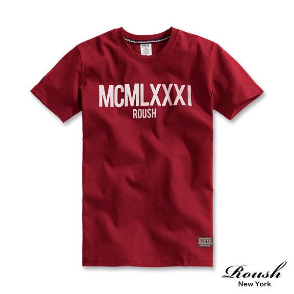【Roush】MCMLXXXI時裝水洗短TEE - 【810211】
