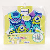日本製 迪士尼  立體防水圍兜  口水巾-怪獸公司(A2B51) -超級BABY