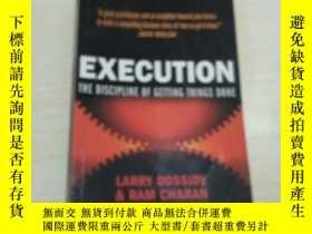 二手書博民逛書店Execution:The罕見Discipline of Get