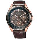 CITIZEN Eco-Drive  宇宙航道衛星對時腕錶-CC9016-01E