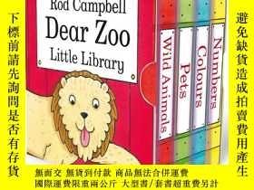 二手書博民逛書店英文原版Dear罕見Zoo little Library 親愛的