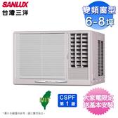 (加碼送快煮壺+塵蹣機)台灣三洋6-8坪變頻窗型冷氣SA-R41VSE/SA-L41VSE~含基本安裝+舊機回收