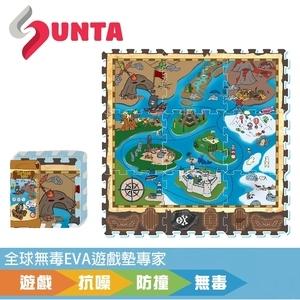 【SUNTA拼接EVA樂扣墊】冒險海盜32*32*1cm(9片/組)