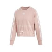 adidas 長袖T恤 Bellista Sweatshirt 粉紅 白 女款 運動休閒 【PUMP306】 EC1904