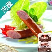 台畜德式香腸-黑胡椒400g【愛買冷藏】