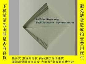 二手書博民逛書店Helfried罕見Hagenberg: Book Sculpt
