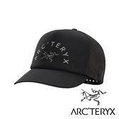 【Arc'teryx 始祖鳥】LOGO棒球網帽『黑』L07508700 戶外.休閒.露營.抗UV帽.登山帽.吸濕排汗帽