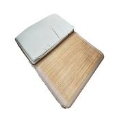 冬夏兩用碳化竹高密度床墊 單人