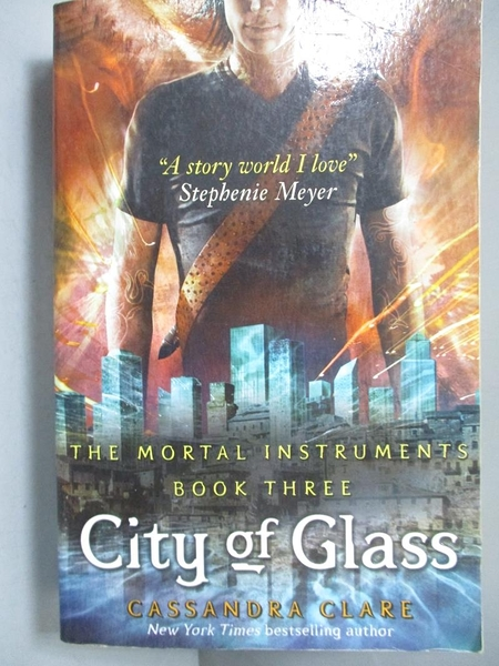【書寶二手書T4/一般小說_NRQ】The Mortal Instruments 3-City of Glass_Cas