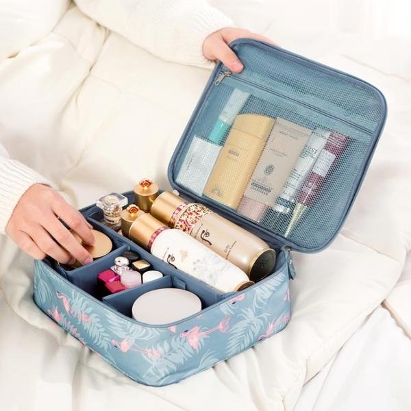 化妝包女便攜大容量超大旅行簡約隨身化妝品收納包【匯美優品】